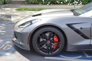 Metallic Carbon Charcoal Rimstripes by Tapeworks - (C7 Shark Gray)