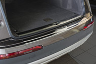 2016+ Audi Q7 MKII (4M) - Stainless Steel Rear Bumper Protector