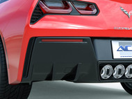2014-2017 C7 Stingray, Corvette Z06 Rear Diffuser Fins - 2 Per Side