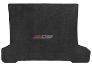 Lloyd Mats C7 Corvette Coupe Cargo Mat with Z06 Logo Badge - Ultimate Jet Black