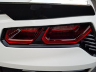 2014 -2017 Corvette C7 Rear Light Blackout Tint