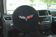 Corvette C6 Steering Wheel Cover by Seat Armour