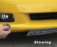 2005-2013 Corvette C6 Powered Show N Go Front License Plate Bracket