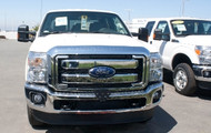 2014 Ford F250/F350 Super Duty - Removable Front License Plate Bracket