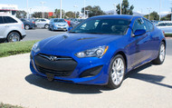 2013-201 Hyundai Genesis Coupe - Removable Front License Plate Bracket