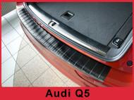 Audi Q5 SQ5 Rear Bumper Protector Guard Black