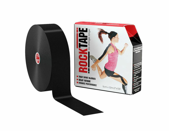 "2"" Rocktape Black - Bulk"