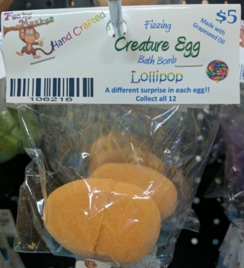 Creature Egg - Farm Animals - Lollipop