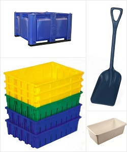 Seafood And Fish Processing Containers Amp Shovels