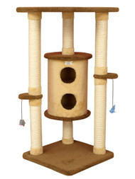 Premium Cat Condo Two Story Model - 44 Inches