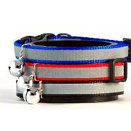 Buddy Cat Reflective Stripe Safety Collar