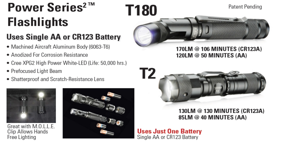 TUFF Flashlights