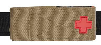 8878- TUFF 3 Way Tourniquet Pouch  Horizontal Carry Front
