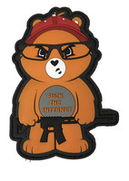 F the Internet Bear Patch