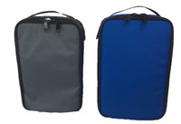 8804- Mag Bag and Accessory Bag Set Blue and Gray