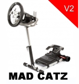mad catz wheel stands