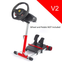 Refurbished: Red Stand for F458 (XBOX 360), F458 Spider (Xbox One),T80, T100, RGT, Ferrari GT and F430 (Black) V2