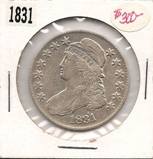 1831 Capped Bust Early Half Dollar