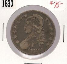 1830 Bust Half Dollar Fine F nice original