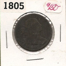 1805 Large Cent - Draped Bust