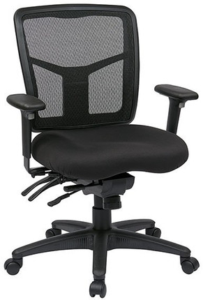 ProGrid Mesh Mid Back Mangers Chair With Adjustable Arms
