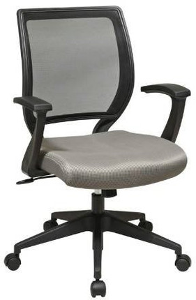 Woven Mesh Back Fabric Seat Task Chair