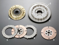 OS Giken TS2B Twin Plate Clutch Kit - BNR32, BCNR33 Nissan Skyline GT-R with RB26DETT