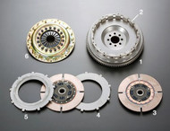 OS Giken TS2BD Twin Plate Clutch Kit - BNR32, BCNR33 Nissan Skyline GT-R with RB26DETT