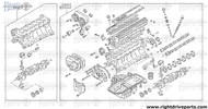 R10102 - engine assembly, bare rebuilt - BNR32 Nissan Skyline GT-R