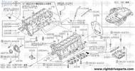 11114 - plate, baffle oil pan - BNR32 Nissan Skyline GT-R