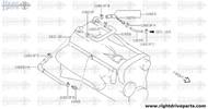 15296 - arrestor frame - BNR32 Nissan Skyline GT-R