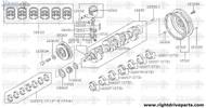 13021 - sprocket, crankshaft - BNR32 Nissan Skyline GT-R