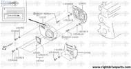 13036EA - grommet, front cover - BNR32 Nissan Skyline GT-R