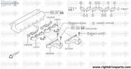 14004 - manifold, exhaust - BNR32 Nissan Skyline GT-R
