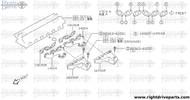 16590P - cover, exhaust manifold - BNR32 Nissan Skyline GT-R