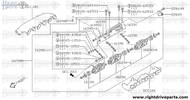16395+A - lever, throttle - BNR32 Nissan Skyline GT-R
