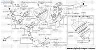16577FA - clamp, hose - BNR32 Nissan Skyline GT-R