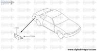 17013A - screw - BNR32 Nissan Skyline GT-R