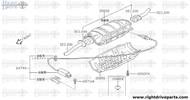 20800E - plug, converter - BNR32 Nissan Skyline GT-R