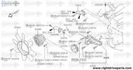 21082 - coupling assembly, fan - BNR32 Nissan Skyline GT-R