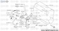 21308+A - hose, water - BNR32 Nissan Skyline GT-R