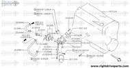 21320+B - bracket, oil cooler mounting - BNR32 Nissan Skyline GT-R