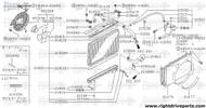 21501A - clamp, hose - BNR32 Nissan Skyline GT-R
