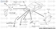 22651E - clamp, hose - BNR32 Nissan Skyline GT-R