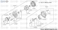 23100 - alternator assembly - BNR32 Nissan Skyline GT-R