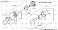 23127 - cover assembly, rear - BNR32 Nissan Skyline GT-R