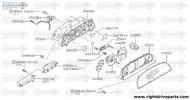 25050 - shaft assembly, flexible speedometer - BNR32 Nissan Skyline GT-R