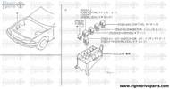 25223E - relay, rear defogger - BNR32 Nissan Skyline GT-R