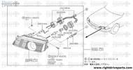 26011AD - bulb - BNR32 Nissan Skyline GT-R