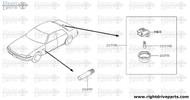26590E - bulb - BNR32 Nissan Skyline GT-R